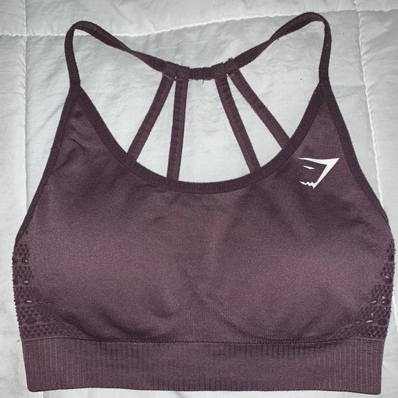 Gymshark Energy Seamless Sports Bra - Purple Wash